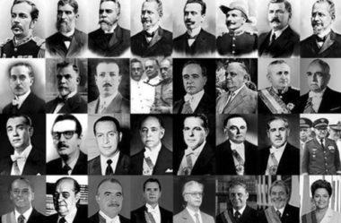 Vestibular: conheça todos os ex-presidentes do Brasil