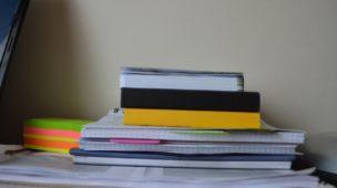 como manter o caderno organizado