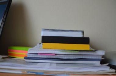 Descubra como manter o seu caderno organizado!